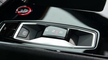 Audi e-tron GT saloon review centre console