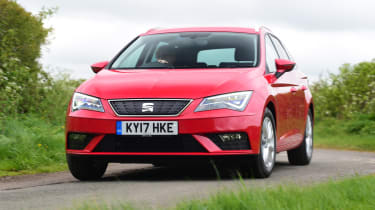 The SEAT Leon ST successfully transfers the hatchback's sharp lines to the estate form