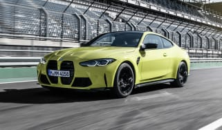2021 BMW M4 Competition Coupe - front 3/4 dynamic