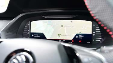 Skoda Octavia vRS hatchback sat-nav