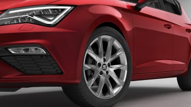 SEAT Leon FR Sport alloy wheel