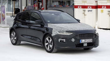 2021 Ford Focus in camouflage