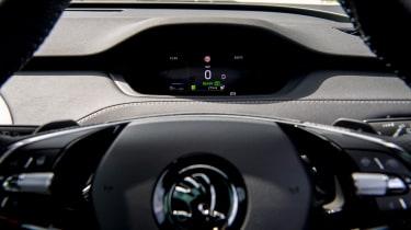 Skoda Enyaq iV SUV - digital dials