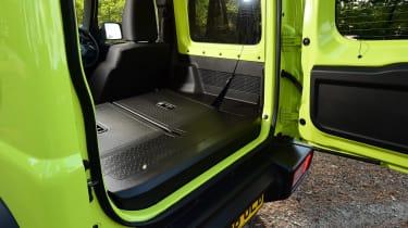 Suzuki Jimny SUV boot