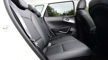 Kia Soul EV hatchback rear seats