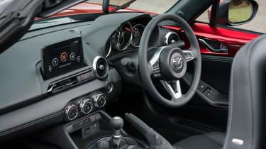 Mazda MX-5 Roadster steering wheel