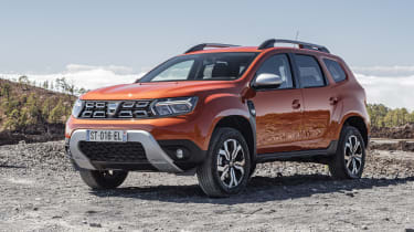 2021 Dacia Duster SUV - front 3/4 static