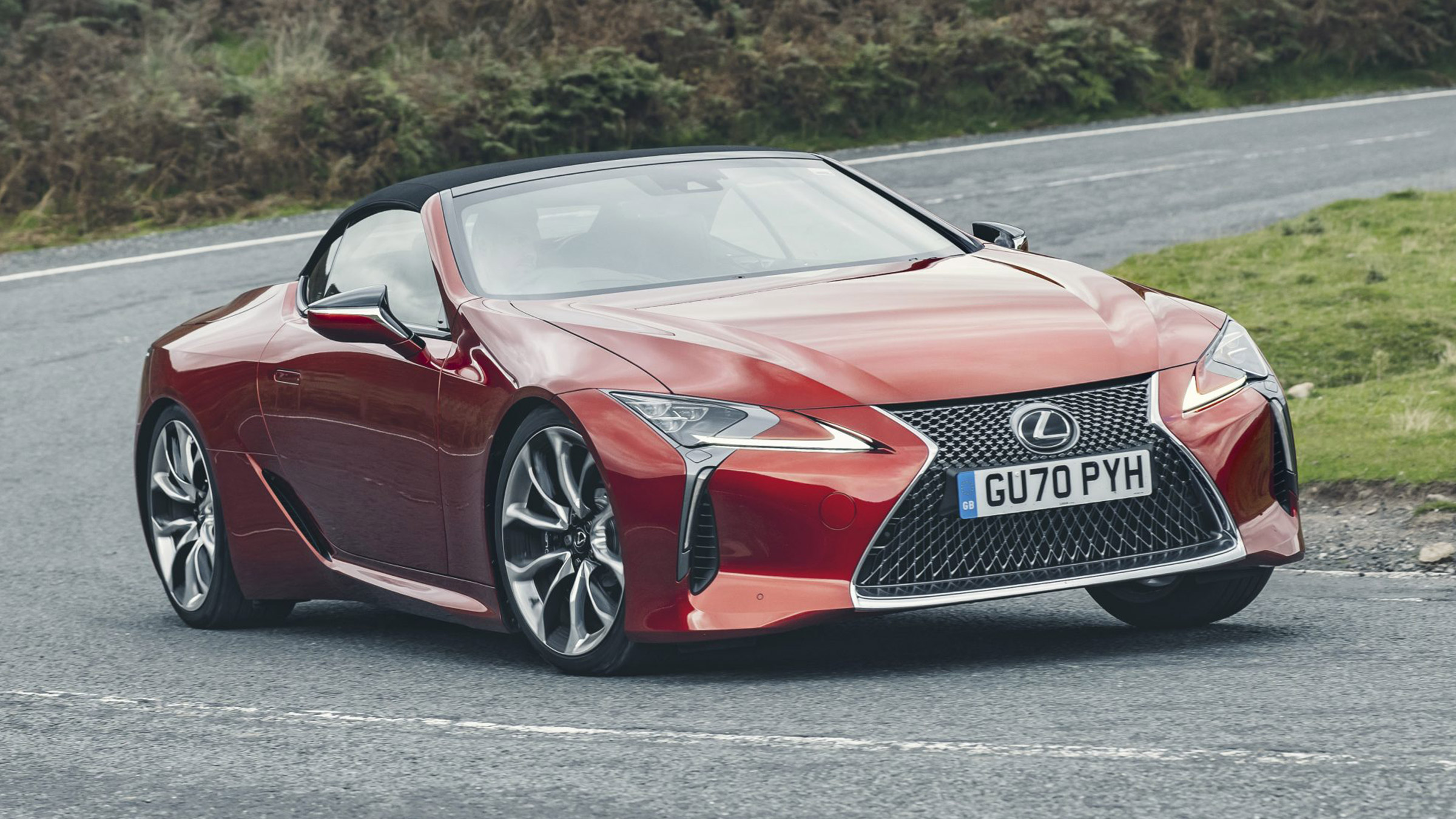 lexus lc convertible 2020 review   carbuyer