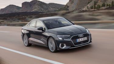2020 Audi A3 Saloon - front 3/4 dynamic view