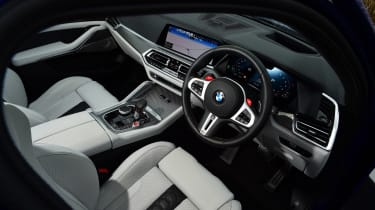 BMW X5 M Competition SUV dashboard