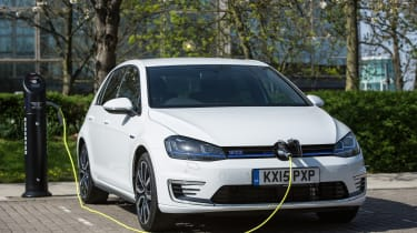 VW aims to bring some driving fun to the hybrid game with the fast Golf GTE