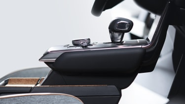 Mazda MX-30 floating centre console