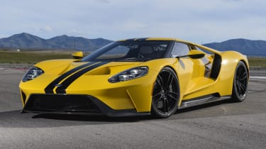 With over 600bhp from a 3.5-litre, twin-turbocharged EcoBoost V6 engine...