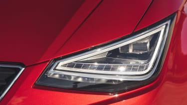SEAT Ibiza hatchback headlights