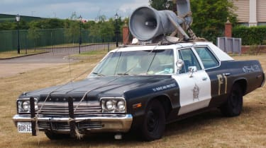 A clapped-out Dodge Monaco with a siren strapped to the roof was The Blues Brothers car of choice.