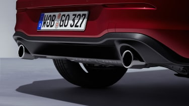 2020 Volkswagen Golf GTI  - rear diffuser and exhaust