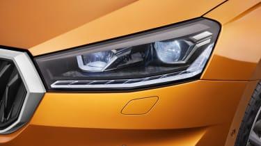 2021 Skoda Fabia - headlight detail