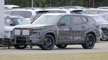 BMW X8 SUV prototype