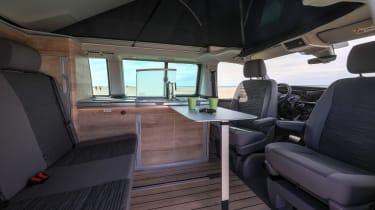 2019 Volkswagen California campervan - interior