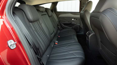 Peugeot 308 SW estate rear seats