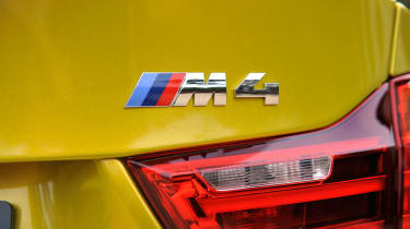BMW M4 coupe 2014 badge