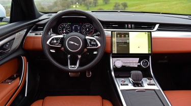 Jaguar XF saloon interior