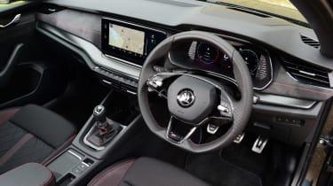 Skoda Octavia vRS hatchback interior