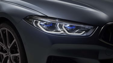 BMW 8 Series Gran Coupe - headlight close up