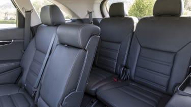Kia Sorento SUV rear seats