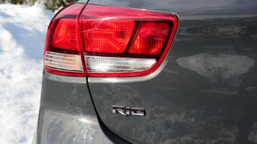 Kia Rio hatchback rear lights