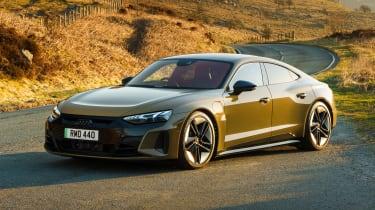 Audi RS e-tron GT saloon front 3/4 static