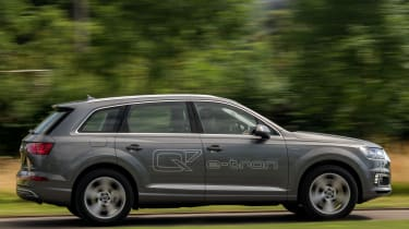 The Q7 e-tron is powered by a 3.0-litre V6 diesel engine paired with an electric motor