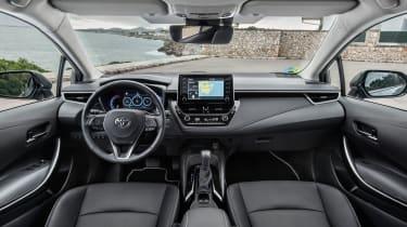 Toyota Corolla saloon dashboard