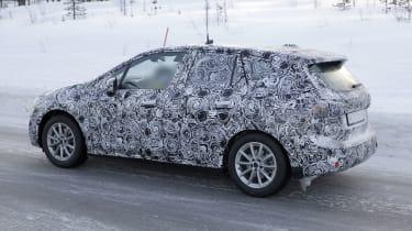BMW 2 Series Active Tourer development model - side