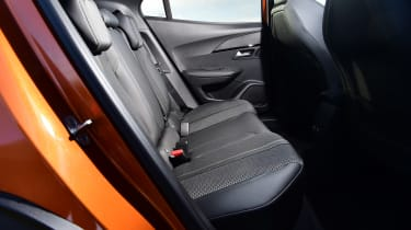 Peugeot 2008 SUV rear seats