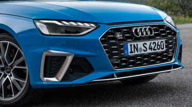 Audi S4 saloon grille