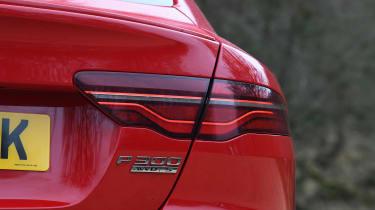 Jaguar XE saloon rear lights