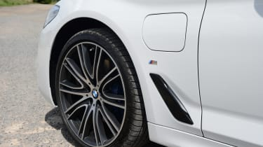 The BMW 530e still feels like the legendary 5 Series to drive, with a rear-wheel-drive feel