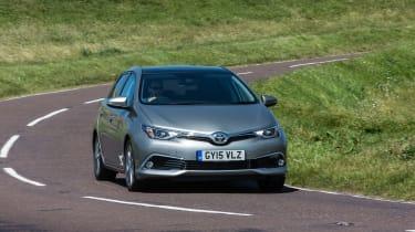 The Auris puts comfort ahead of driving pleasure