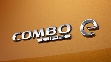 Vauxhall Combo-e Life badge
