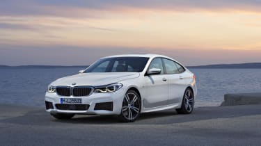 The BMW 6 Series GT replaces the 5 Series GT, and while it's a longer car, it's also lower and sleeker