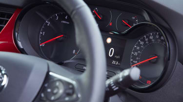2021 Vauxhall Crossland SUV - dial cluster