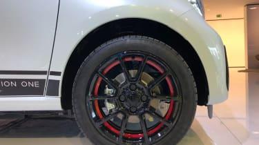 Smart EQ ForFour wheel frankfurt