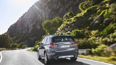 2019 BMW X1 SUV - rear view dynamic