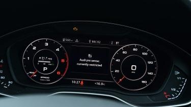 Audi Virtual Cockpit dials