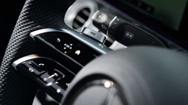 Mercedes E-Class hybrid steering wheel controls