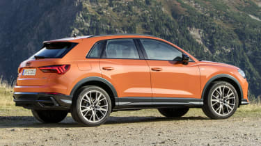 Even on big wheels, the Audi Q3 is remarkably comfortable.