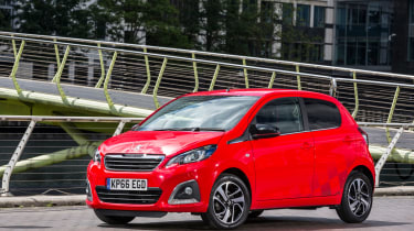 The Peugeot 108 offers a choice of 1.0- and 1.2-litre petrol engines