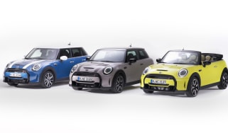 Facelifted MINI range