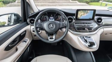 Mercedes V-Class MPV interior